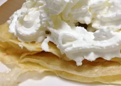 Crêpes chantilly