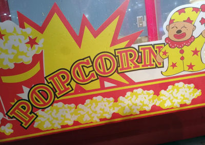 Stand Pop corn au parc indoor